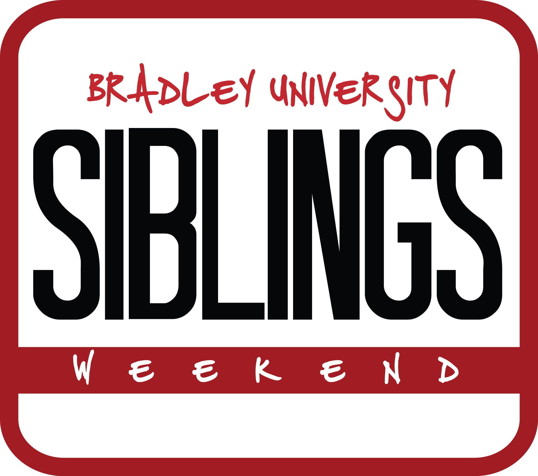 Siblings Weekend Logo