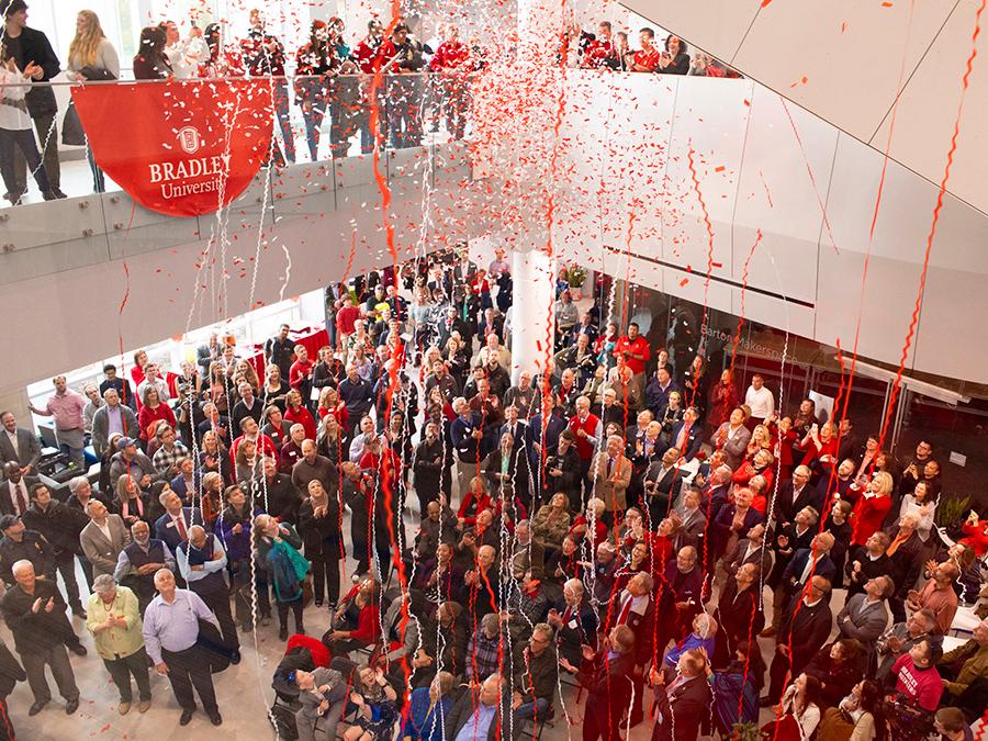 Campus Celebrates Convergence Center Dedication Media