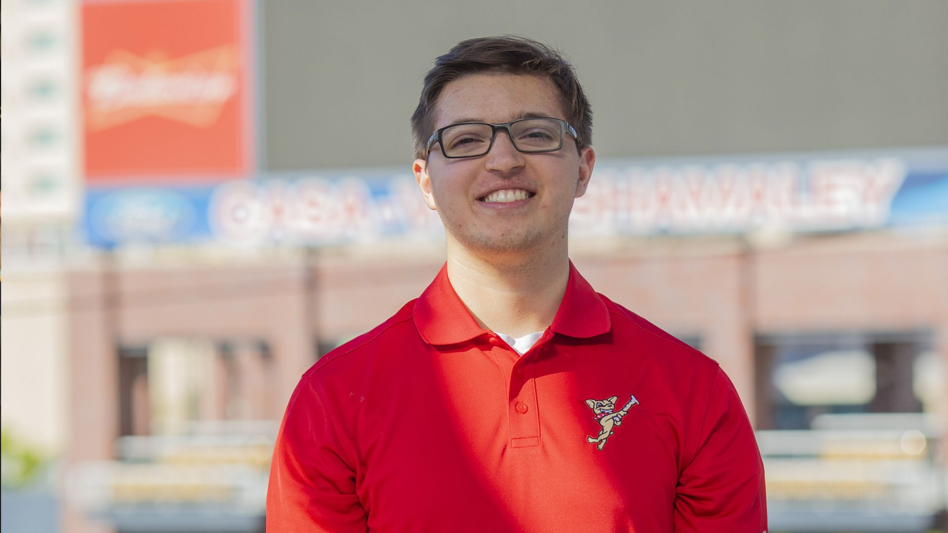 Sports communication major Nathan Nunez