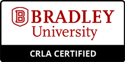 CRLA certified badge