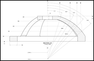 Dome Structure Drawing