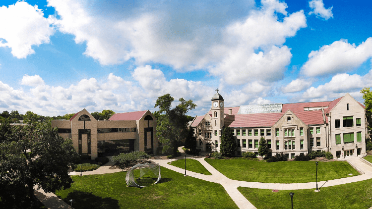 Library and Westlake Hall